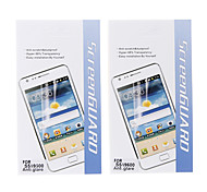 2 Pcs Anti-Glare Hyper-98% Transparency Matte Screen Protector for Samsung Galaxy S5 I9600