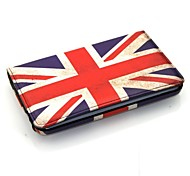 For Samsung Galaxy Case with Stand / Flip / 360° Rotation Case Full Body Case Flag PU Leather Samsung Tab 3 10.1