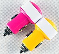Deux couleurs chargeur de voiture pour iPhone, iPod, Anycall, Nokia, Sony