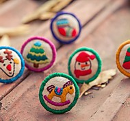 New Style Sweet Cartoon Hand Embroidery Women's Ring(1 Pc)(More Style)