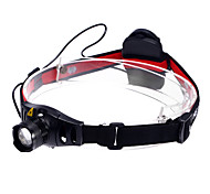 TK67 Adjustable Focus 3-Mode 1xCree XR-E Q5 Waterproof Headlamps(3xAAA,350LM)Black