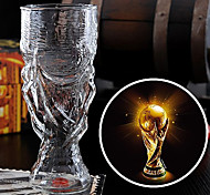 300ml Creative Word Cup Design Glass Cup