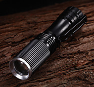 LED Flashlights / Handheld Flashlights LED 1 Mode 350 Lumens Others 14500 Multifunction - Others Aluminum alloy