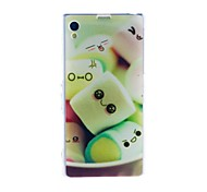 Kinston Sweet Cotton Candy Pattern TPU Soft Case for Sony Xperia Z1 L39h