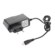 B-351 European Standard AC/DC Adapter/Charger Micro for Tablet (5V, 2000mA, Black)