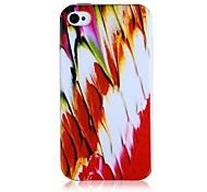 Feder-Muster Silikon Soft Case für iPhone5/5S