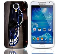 Cool Coupe Pattern Hard Case with 3-Pack Screen Protectors for Samsung Galaxy S4 mini I9190