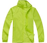Unisex Outdoor Ultralight Rain Jacket Windbreaker Basic Style