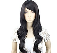 Capless Long High Quality Synthetic Wavy Wig