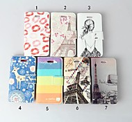 Flip Leather Wallet Case Card Holder Cover Stand for  iPhone 4 and 4S