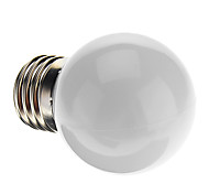 0.5W E26/E27 Bombillas LED de Globo G45 7 LED Dip 50 lm Blanco Natural Decorativa AC 100-240 V