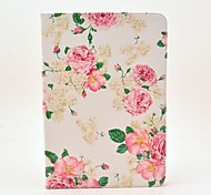 Rose Flower Pattern Full Body Case met standaard voor Samsung Galaxy Tab 2 10.1 P5100/P5110
