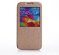 Custodia in pelle PU con Windows per Galaxy i9600 Samsung S5 (colori assortiti)