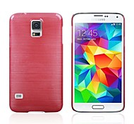 UV Varnish Drawing Process PC Material Back Cover Protective Shell for Samsung Galaxy S5 i9600