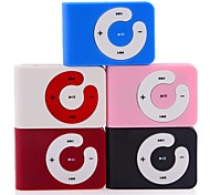Cute Mini Clip-on Plug-in Micro SD Card TF Card MP3 Music Player with Earphone and USB Cable