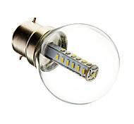 3W B22 LED Globe Bulbs G45 25 SMD 3014 180-210 lm Warm White / Cool White Decorative AC 220-240 V