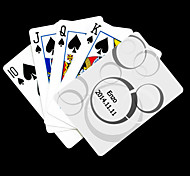 Regalo personalizzato White Dot modello Playing Card per il Poker