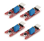 GLMD01  DIY Sensitive Microphone Sensor Module for (For Arduino)(4pcs)