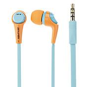 bruit Q6I stéréo awei isoler écouteurs intra-auriculaires avec micro (de couleur assortie) pour iPhone6 / iPhone6 ainsi