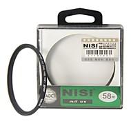 NISI 58mm PRO UV Ultravioleta Filtro Protector profesional de la lente para Nikon Canon Sony Pentax Olympus Cámaras
