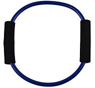 Palavra O estilo Latex fitness exercício estiramento Pull Corda - Azul