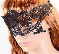 Classic  Black Lace Headbands For Women(Black)(1 Pc)