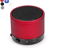 DOGO-S10  Mini Portable V2.1 Bluetooth Speaker MIC-AUX Bluetooth Handsfree-(Red / Black / Silver)