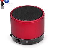 DOGO-S10 Mini V2.1 altoparlante portatile Bluetooth MIC-AUX Bluetooth Handsfree-(Rosso / Nero / Argento)