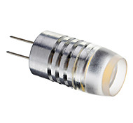 G4 1.5W 1PCS COB 120lm LM Warm White LED Globe Bulbs DC 12 V