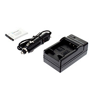 ismartdigi-Samsung SLB-0837B 860mah,3.7V Camera Battery+Car charger for SAMSUNG L301 L70 L83T NV20 NV15