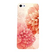 Beautiful Flower Pattern PC Hard Case for iPhone 5C