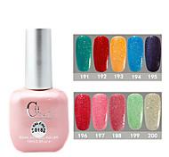 1PCS CH Soak-off Pink Bottle Astral Glitter UV Color Gel Polish NO.191-200(15ml,Assorted Color)