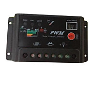 10A PWM Solar Panel Battery Regulator Charge System Digital Controller 12V 24V Auto Switch Indoor Home