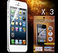 Protective HD Screen Protector for iPhone 5/5S(3PCS)