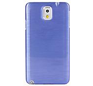 Für Samsung Galaxy Note Other Hülle Rückseitenabdeckung Hülle Einheitliche Farbe PC Samsung Note 3