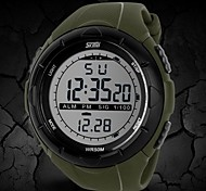 Men's Watch Sports LCD Digital Water Resistant Multifunction Wrist Watch Cool Watch Unique Watch