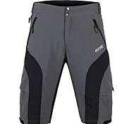 SANTIC® Cycling Shorts Men's Bike Breathable / 3D Pad Baggy shorts / Shorts / Bottoms Polyester Solid Summer Fishing / Cycling/Bike