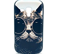 Sunglass Cat Pattern Hard Case for Samsung Galaxy Trend Duos S7562