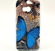 Beautiful Butterfly Pattern Hard Case for HTC One 2 M8
