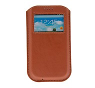 Kinston Universal Luxury Skylight  Style PU Leather Full Body Case for Samsung S3 I9300/S4 I9500