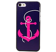 Elonbo J5B Retro Cute Anchor Hard Back Case Cover for iPhone 5C