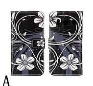 PU Leather Flower Pattern Case for Huawei Ascend Y300