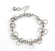 Lady's10mm Hanging Bell Metallic Bracelet
