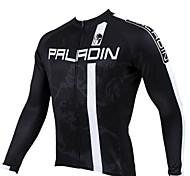 Primavera e l'estate e l'autunno di stile 100% Poliestere Maniche lunghe Cycling Jersey Uomo PaladinSport
