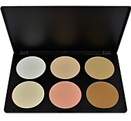 Women Makeup Cosmetic Contour Shading Concealer Powder Palette 6 colors 8254
