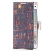 Etui en cuir style livre plateau avec fente pour carte et stand pour LG Optimus P760 L9