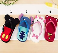 Lovely slippers Pattern  for iPhone 4/4S(Assorted Color)