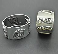 Naruto Uzumaki Naruto Wooden Leaves Symbol Bracelet Cosplay Accessory
