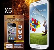 Protezione di schermo protettivo HD per Samsung Galaxy S4 i9500 (5PCS)
