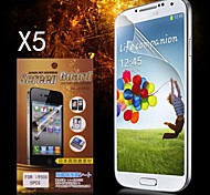 Protector HD protector de pantalla para Samsung Galaxy S4 i9500 (5PCS)